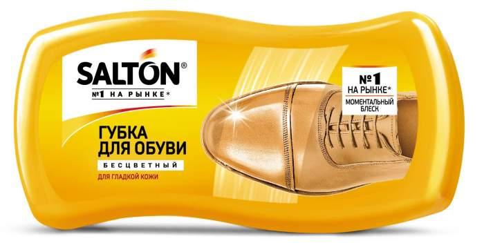 Губка для обуви Salton Волна для гладкой кожи бесцветная (набор 2шт)