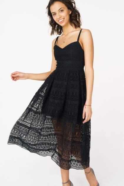 Повседневное платье женское T-Skirt SS17-28-0447-FS черное M