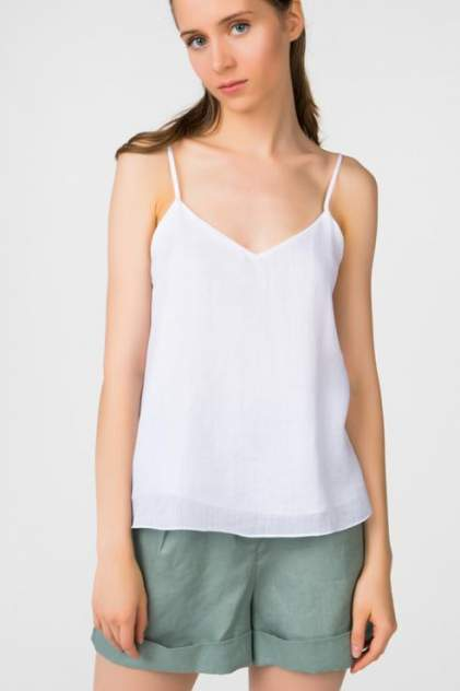 Топ женский T-Skirt SS17-04-0459-BS белый 44