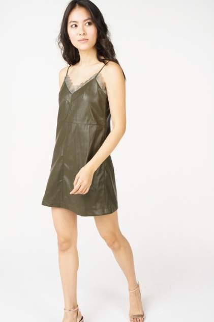 Платье-комбинация женское T-Skirt SS18-07-0556-FS зеленое M