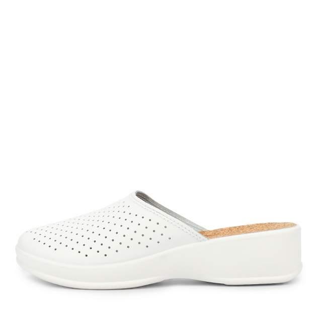 Сабо женские ZENDEN comfort 43102-00104(08) белые 37 RU