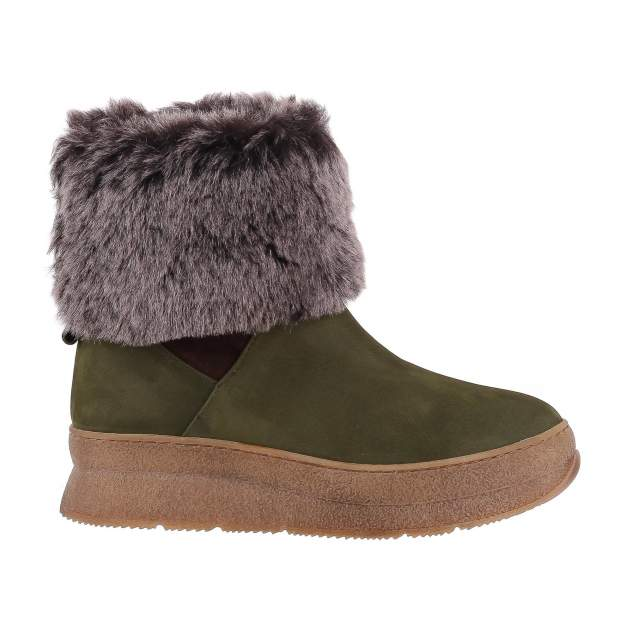 Полусапоги женские Shoes Market 798-D-612-70-93 зеленые 36 RU