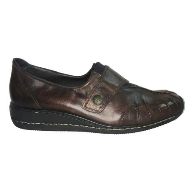 Туфли женские Rieker 44352-28, коричневый