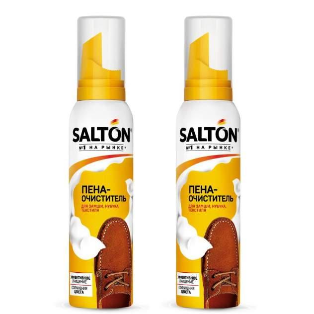 Пена-очиститель Salton для изделий из кожи и ткани 150мл (набор 2шт)