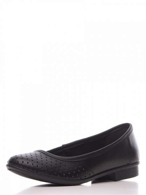 Балетки женские ZENDEN comfort 51013-00101 черные 38 RU