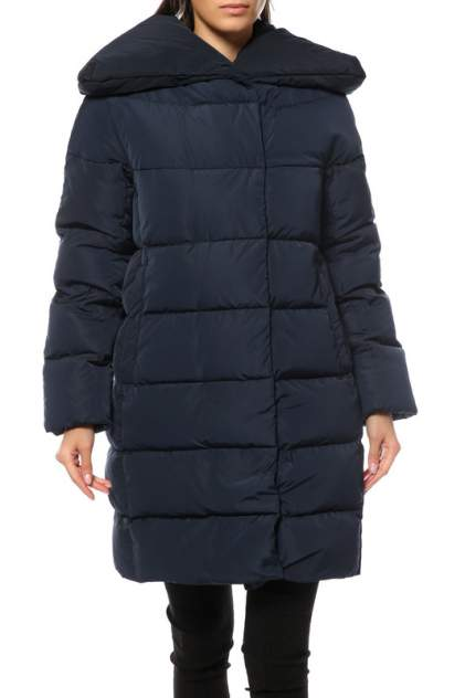 Пуховик-пальто женский Madzerini FELISA синий 44 IT