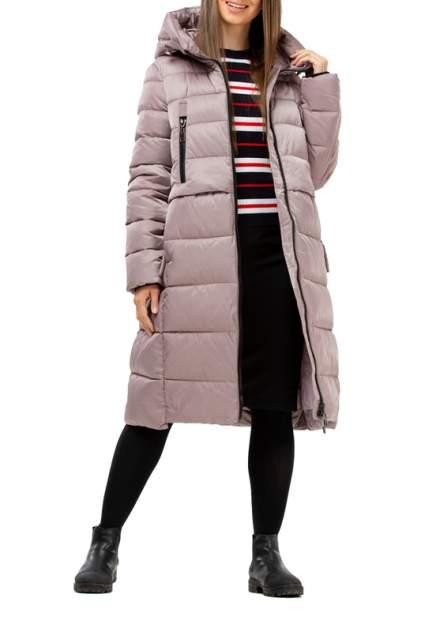 Пуховик-пальто женский Amimoda 10N305-14 бежевый 44 RU