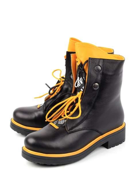 Ботинки женские Longfield 407720017 черные 39 RU