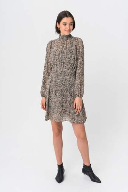 Повседневное платье женское Vero Moda 10222191 коричневое M