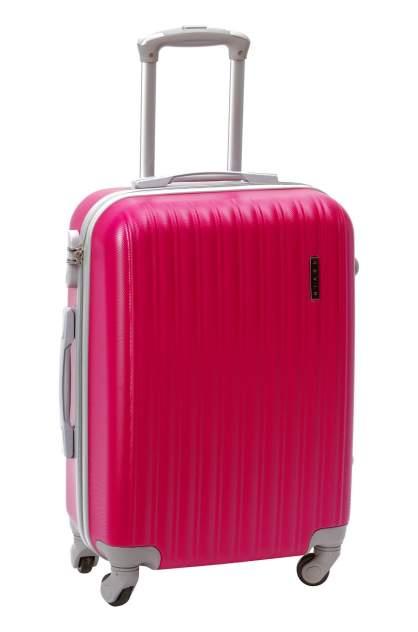 Чемодан TEVIN 00004, розовый