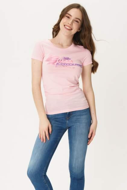 Футболка женская GUESS JEANS W0GI78K46D0 розовая M