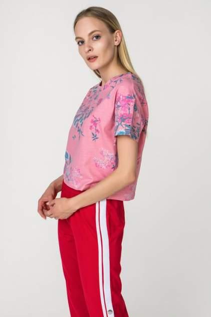 Футболка женская Tommy Hilfiger DW0DW04322 розовая M