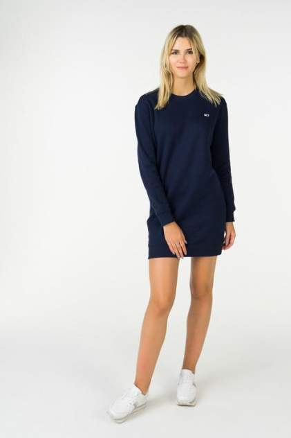 Платье-толстовка женское Tommy Hilfiger DW0DW04470 синее M