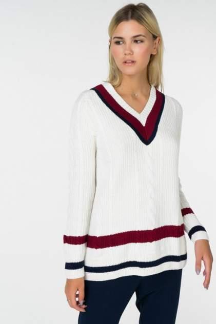 Пуловер женский Tommy Hilfiger DW0DW05143 белый M