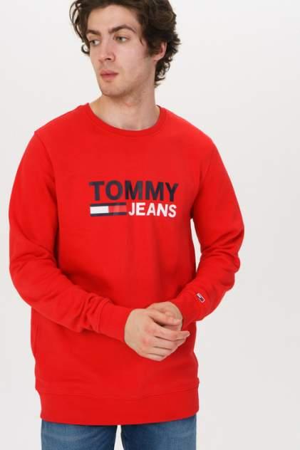 Толстовка мужская Tommy Jeans DM0DM07930, красный