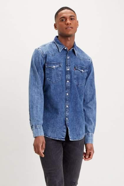Рубашка мужская Levi's 8574400120, синий