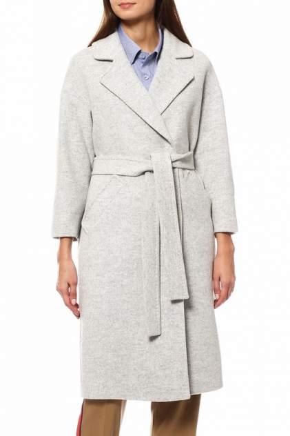 Пальто-халат женское Kroyyork №445 серое 46 RU