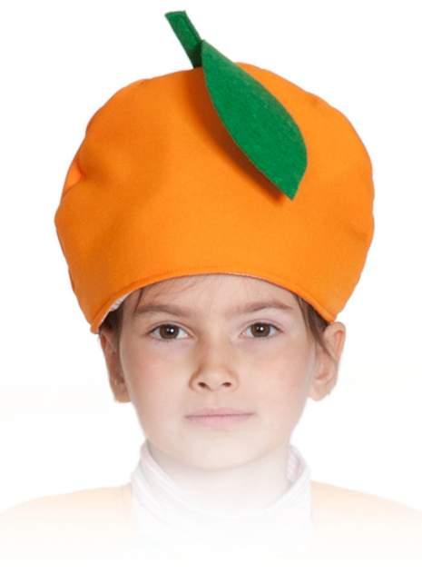 Карнавальная маска-шапка Карнавалофф Апельсин (размер 53-55)
