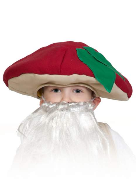 Карнавальная маска-шапка Карнавалофф Гриб Боровик (размер 53-55)