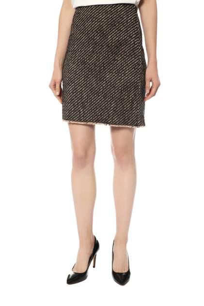 Юбка женская Luisa Cerano 508040/1813/9001 коричневая 38 DE