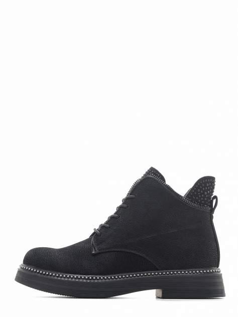 Ботинки женские INSTREET 77-01WN-012GR черные 40 RU