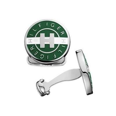 Запонки мужские Tommy Hilfiger TH2700133 зеленые