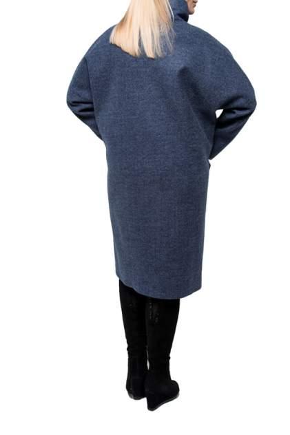 Пальто женское KR 0791 синее 50 RU
