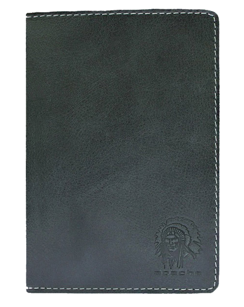 Бумажник водителя Аpache ОВ-А дымчато-черный