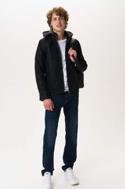 Кожаная куртка мужская Blend 20708663 черная M