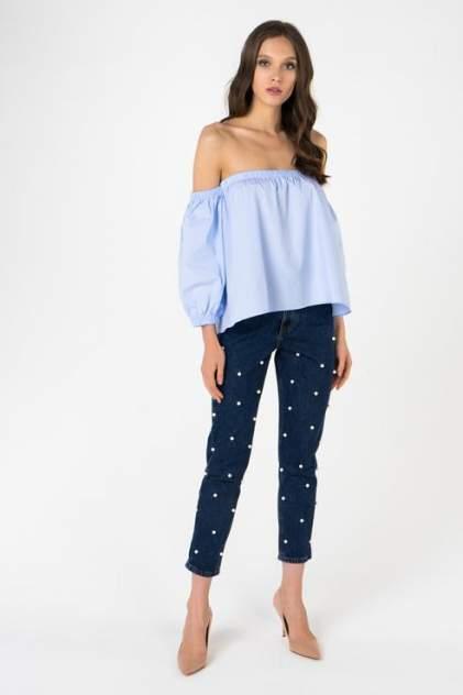 Блуза женская T-Skirt SS17-04-0410-FS синяя S