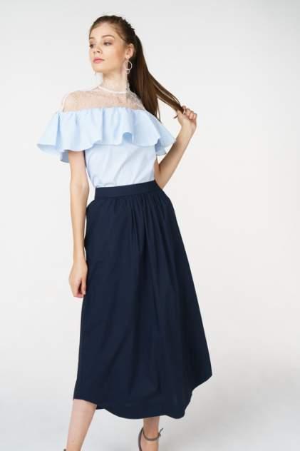 Блуза женская T-Skirt SS17-04-0449-FS голубая S