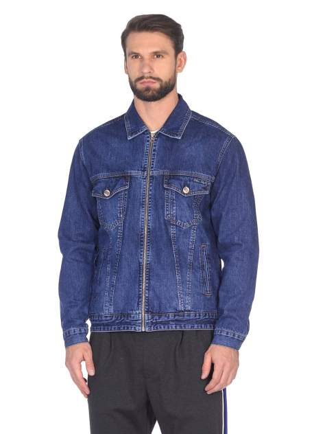 Джинсовая куртка мужская DAIROS GD50600024 синяя M