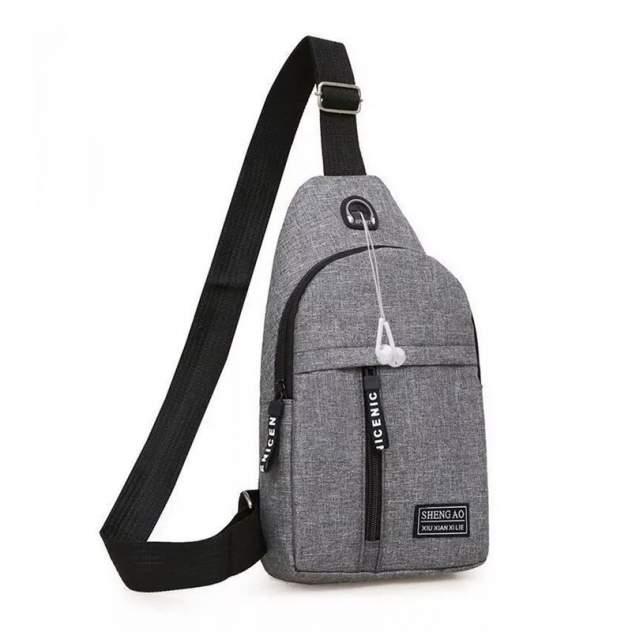 Рюкзак мужской ForAll shoud серый