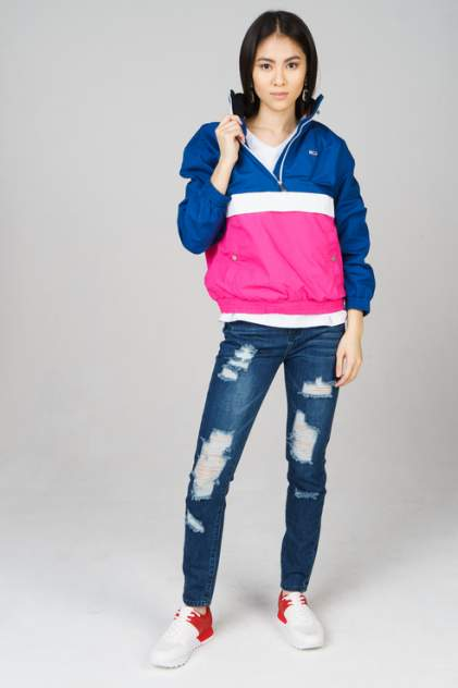 Куртка женская Tommy Jeans DW0DW06009 разноцветная S