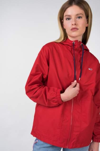 Спортивная ветровка женская Tommy Hilfiger DW0DW05601 красная S