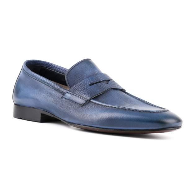 Лоферы мужские Gianfranco Butteri 30905 синие 42 RU