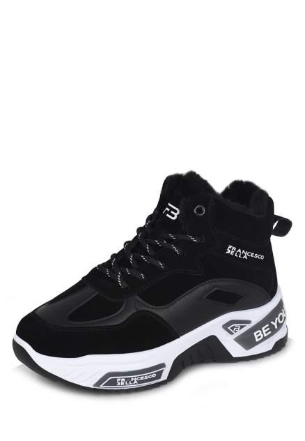 Кроссовки женские Francesco Bella MYZ21AW-511B, черный