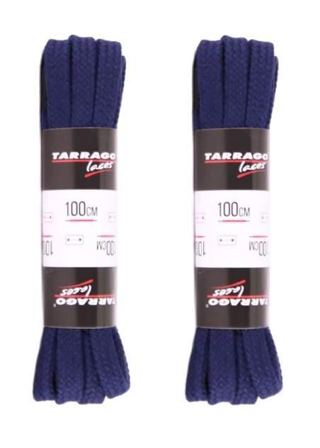 Шнурки для обуви Tarrago P-TL6321 темно-синие 100 см (две пары)