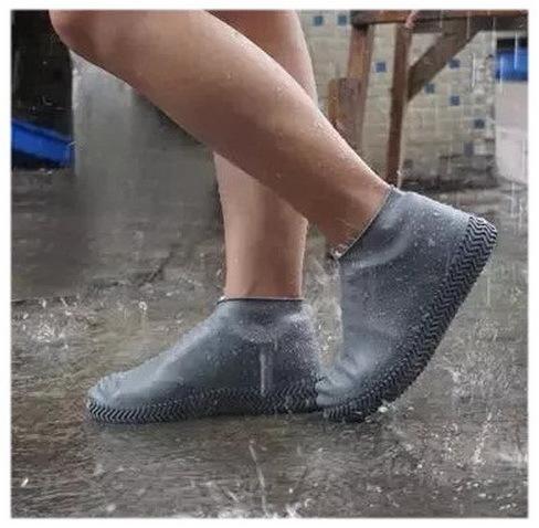 Силиконовые чехлы для обуви HagenStore M (35-40) серые