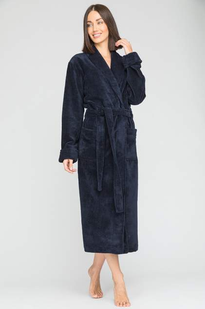 Домашний халат женский Peche Monnaie Naturel_woman, синий