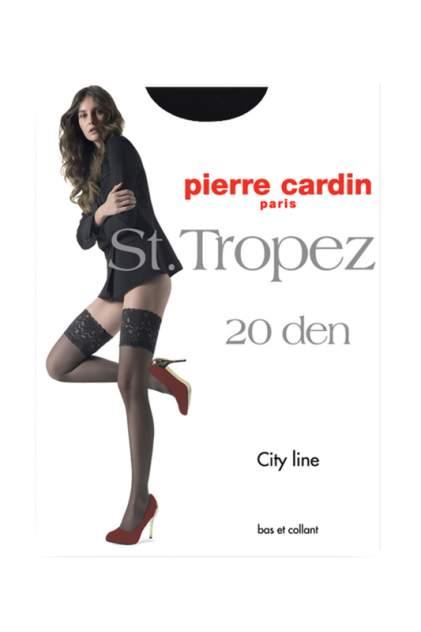 Чулки женские Pierre Cardin Cr ST. TROPEZ0 черные 3