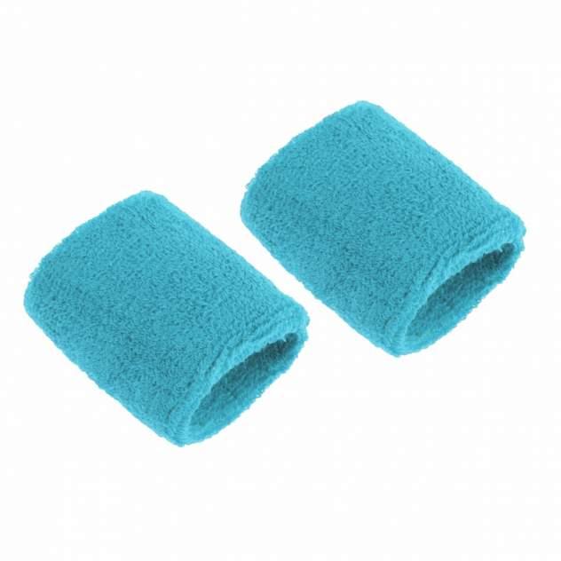 Напульсники спортивные 2 шт, цвет голубой, 8х8 см, Atlanterra AT-WRLT-08