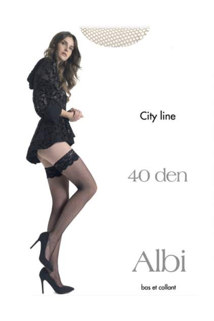 Чулки женские Pierre Cardin Cr ALBI0 телесные 3