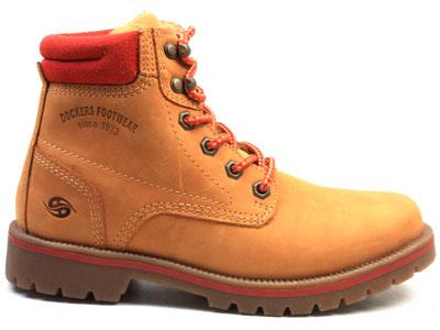 Ботинки женские Dockers 89098, коричневый