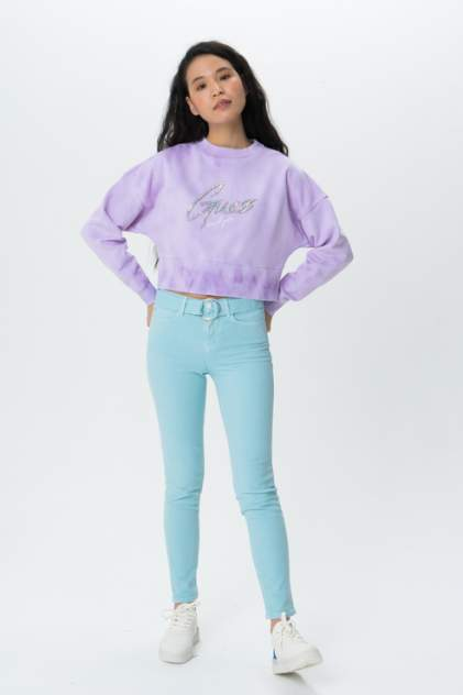 Свитшот Guess W0GQ24K68I0, фиолетовый