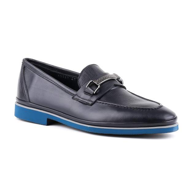 Лоферы мужские Gianfranco Butteri 43820-A синие 42 RU