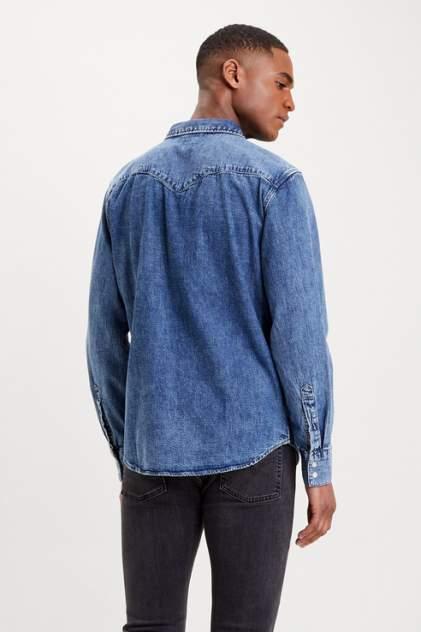 Джинсовая рубашка мужская Levi's 8574400120 синяя 46
