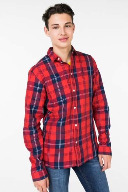Рубашка мужская Tommy Hilfiger DM0DM04980, красный