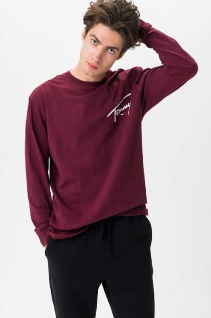Лонгслив мужской Tommy Jeans DM0DM07015 красный S