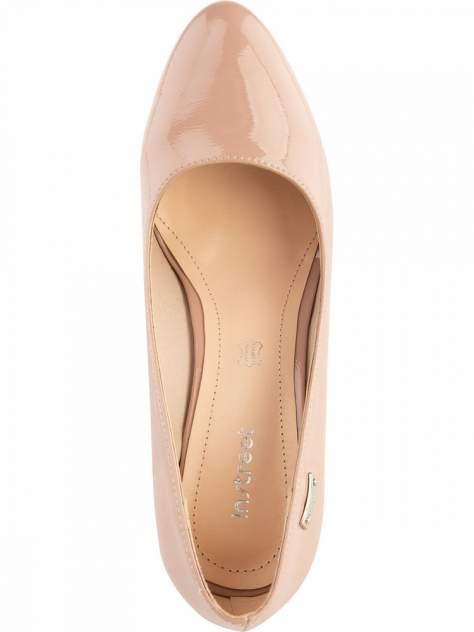 Туфли женские INSTREET 91-92WN-021DS бежевые 40 RU